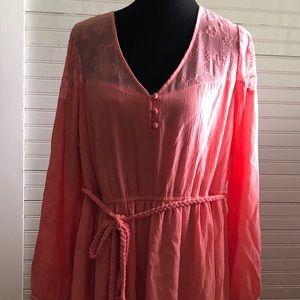 NWT Torrid Coral Dress